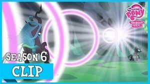 "MLP FiM - Defeating Queen Chrysalis ""To Where and Back Again"" HD"