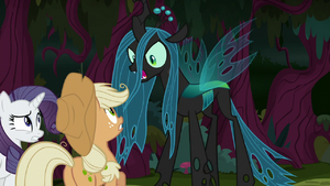 Queen Chrysalis 'where are the others !' S8E13