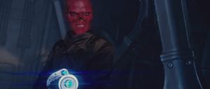Red skull laser