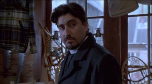 Reverend Leland overhearing Henry