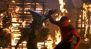 Spiderman 1 - Burning Building Scene (HD 1080p) - YouTube 163867
