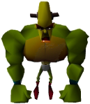 Crash Bandicoot Doctor Nitrus Brio Hulk