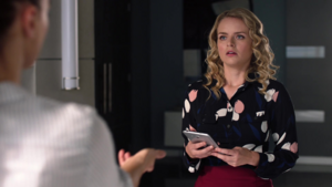 Eve and Lena discuss their test subjects