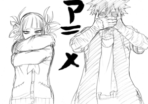 Himiko and Dabi Animation Debut Sketch