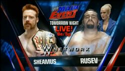 SheamusRusevMainEvent22july2014