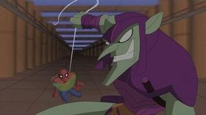 Spectacular Spider-Man (2008) Spider-Man vs Green Goblin factory fight part 2 2
