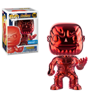 Thanos Red Chrome POP
