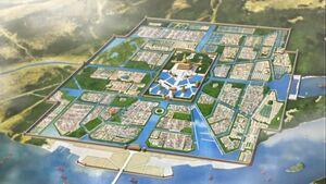 Vermillion Forbidden City (Code Geass Anime)