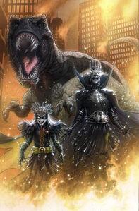 Dark Nights Death Metal Legends of the Dark Knights Vol 1 1 Textless Variant