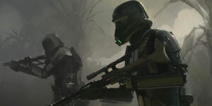 Death Trooper Concept Art