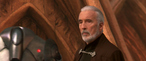 Dooku leaves