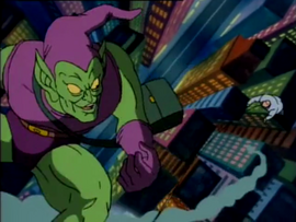 Green Goblin and Kingpin