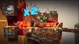 LittleBIGPlanet (720p HD) Walkthrough Part 47 - Serpent Shrine - Initial & Aced