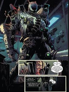 Venom armor wepon