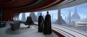 Chancellor Palpatine speak