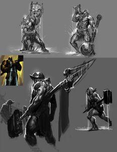 Elemental Talos concept 4