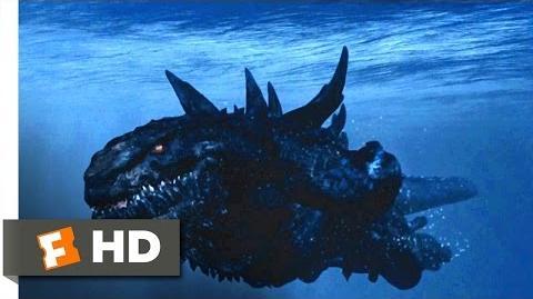 Video - Godzilla (1998) - Zilla vs. Submarines Scene (6 10 ...