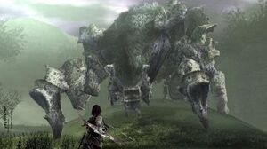 Shadow of the Colossus Phaedra Boss Fight - 4th Colossus (PS3 1080p)