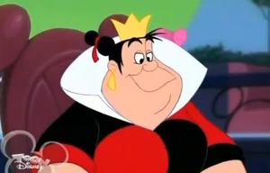 The Queen of Hearts in House of Mouse
