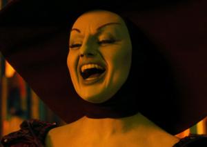 Theodora laughing