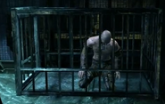 Zsasz In his cell