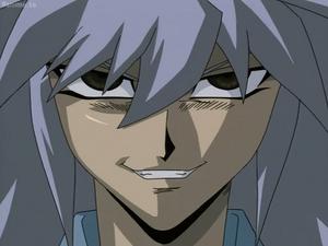Bakura copy evil grin