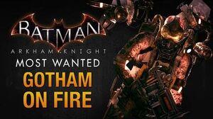 Batman Arkham Knight - Gotham on Fire (Firefly)