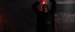 Darth Tyranus about
