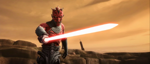 Maul pointing