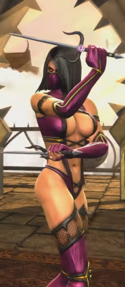 Mileena Mk9 Pose