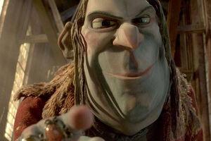 Snatcher grinning evilly