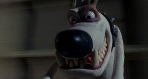 Wallace and Gromit Philip Evil Grin