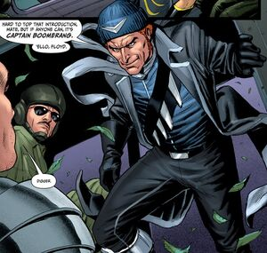 Captain Boomerang Prime Earth