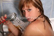 Dep 2826522-Blonde-in-shower-1-