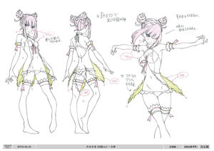 Girl character design 3