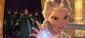 Hans convincing Elsa