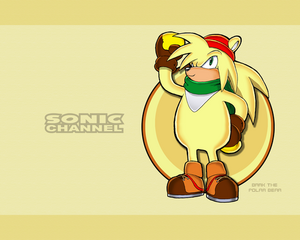 Sonic channel bark wallpaper by e 122 psi
