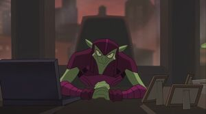 Green Goblin in Tombstone's Desk SSM