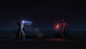 Maul desert duel