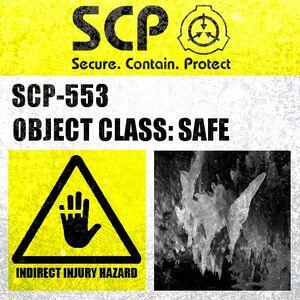 SCP-553 Label
