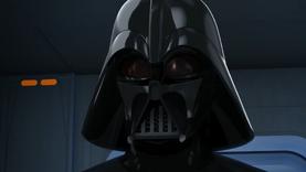 Vader confers