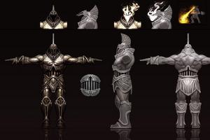Elemental Talos Concept Art 1 by Anthony Jones