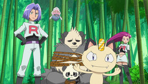 Imprisoned Pancham & Pangoro