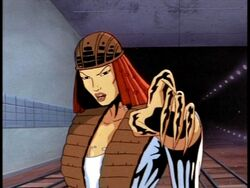Lady Deathstrike animated