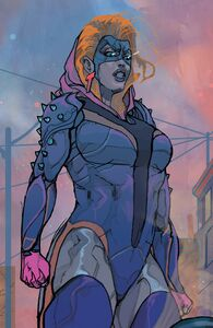 Mary MacPherran (Earth-616) from Black Bolt Vol 1 8 001