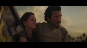 Rogue One A Star Wars Story Destruction of Scarif and death of Jyn Erso & Cassian Andor 1080p HD