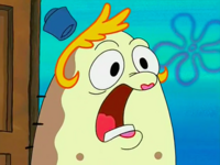 SpongeBob SquarePants Mrs. Puff screaming