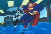 Superman vs. Sergeant Corey Mills