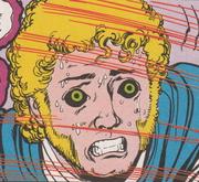 Villain Jericho TT comic