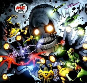 Anti-Monitor Black Lantern Corps 003
